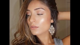 Jennifer Lopez Glowing Makeup Tutorial