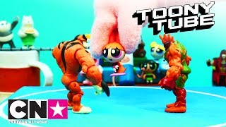 Игрушки «Бен 10» в действии | Битвы пришельцев с врагами | Игрушки «Бен 10» | Cartoon Network