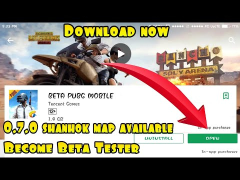 HOW TO DOWNLOAD PUBG MOBILE BETA VERSION FROM GOOGLE PLAY STORE |BECOME PUBG MOBILE BETA TESTER !