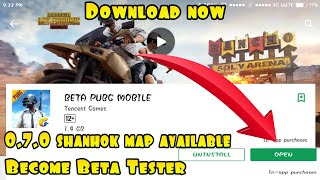 HOW TO DOWNLOAD PUBG MOBILE BETA VERSION FROM GOOGLE PLAY STORE  BECOME PUBG MOBILE BETA TESTER !