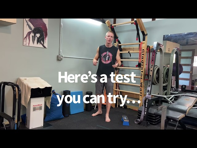 Balance Training & A Test