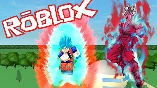 SSJB KAIOKEN X10! NEW EPIC DRAGON BALL GAME! ROBLOX!