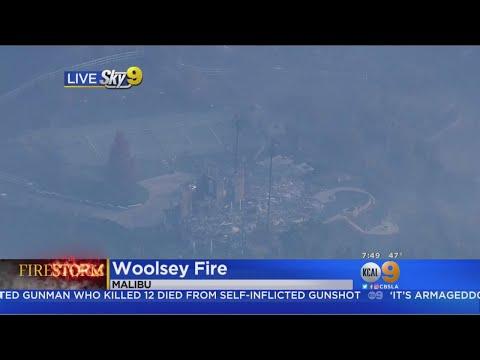 Woolsey Fire Burn Area: Malibou Lake