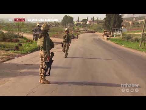 ÖSO çalışmalarını rahat sürdürebilsin diye Afrin merkezine girişler geçici olarak durduruldu