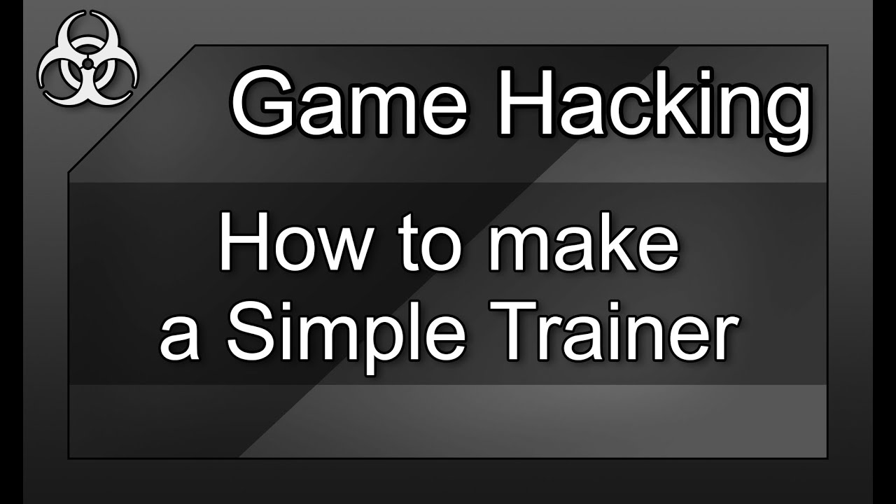 Game Hacking #7 - How to make a Trainer (Memory) for any ...