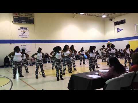 Lake Taylor Middle School Steppers on the Rise