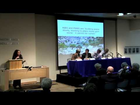 Panel Discussions - Israeli-Palestinian Transboundary Water Cooperation
