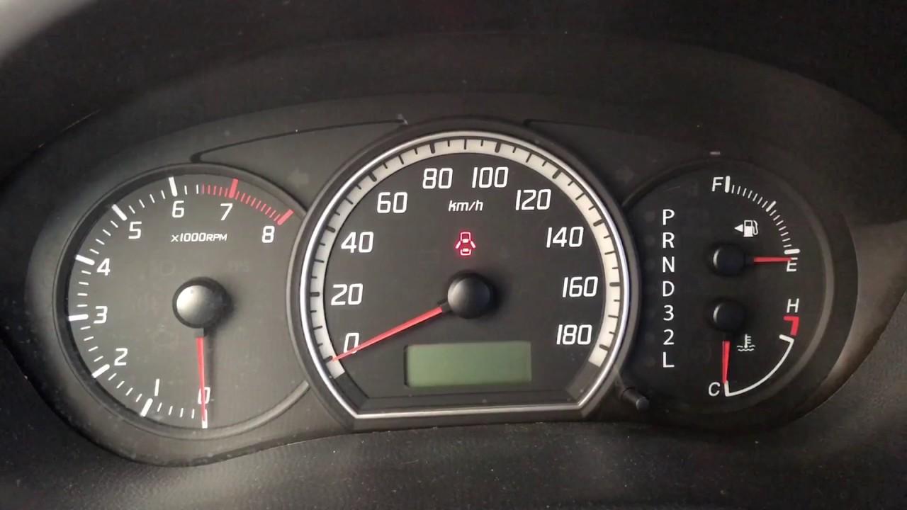 Flashing Check Engine Light >> Suzuki Swift Check Engine Light Problem - YouTube
