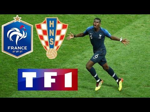 FRANCE 4-2 CROATIE / Finale de la CDM / 15 juillet 2018 (TF1)