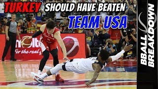 Turkey SHOCKS Team USA But Can't Hang On In FIBA World Championships