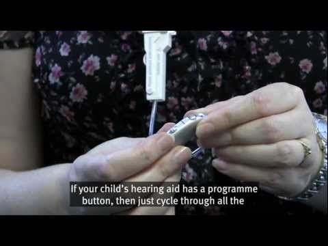 How to look after your deaf child's hearing aids