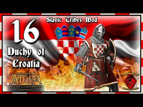 ⚔️ #16 CROATIA CAMPAIGN | ATTILA - AoC Modded - The Puppet State!