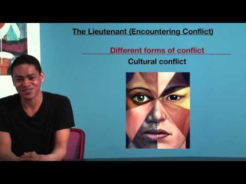 VCE English - The Lieutenant (Encountering Conflict)
