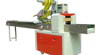 The process of packing pastry horizontal packaging machinery for bread flow wrapping machines