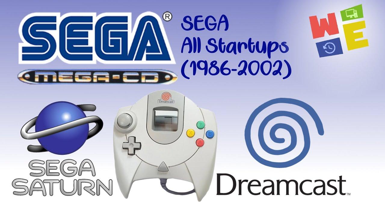 ALL SEGA CONSOLES STARTUPS (1986-2002)