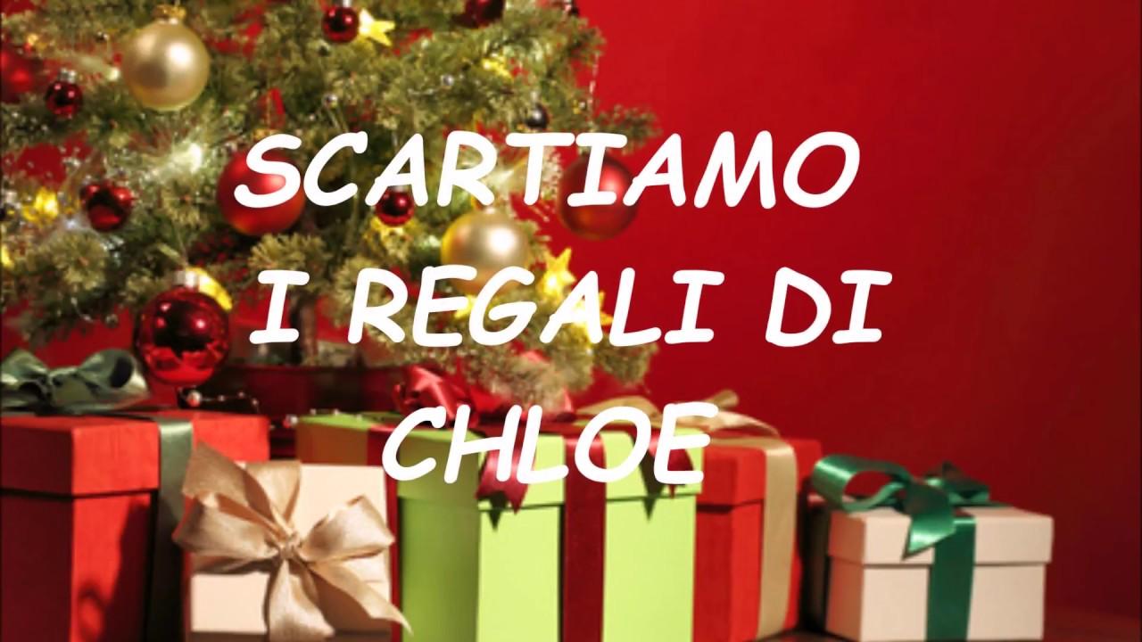 Regali Di Natale 3 Anni.Scartiamo I Regali Di Natale Chloe 3 Anni 2017 Camper Di