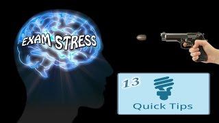 13 Quick Tips to KILL EXAM STRESS