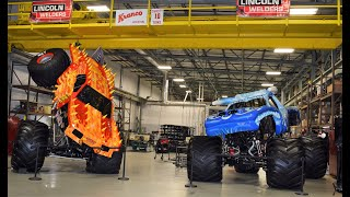 A Visit to Monster Jam Headquarters