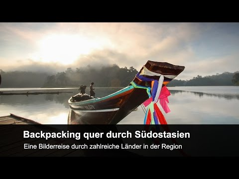 Backpacking quer durch