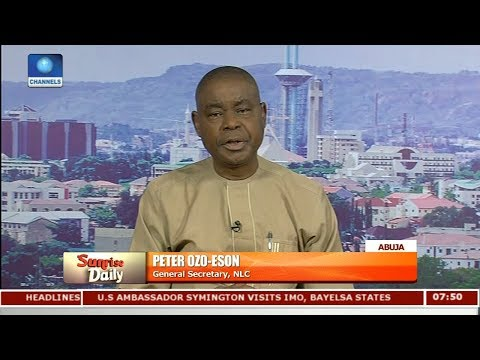 State Governors Diverting Bailout Funds - NLC Pt 2 | Sunrise Daily |