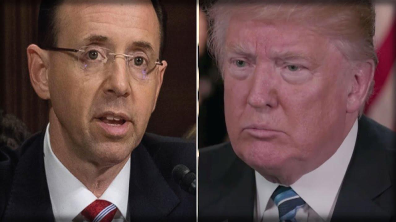 "Résultat de recherche d'images pour ""Rosenstein Just Betrayed Trump, So Trump Destroyed Him With These TWO WORDS"""