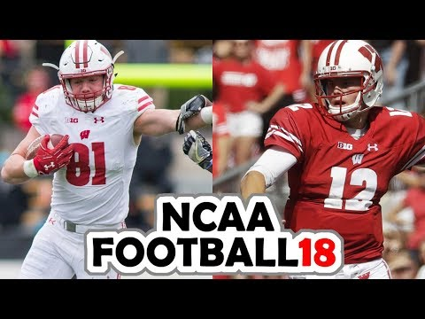 Wisconsin @ Nebraska - 10-7-17 NCAA Football 18 PRESEASON Simulation