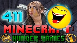 Minecraft: Hunger Games w/Mitch! Game 411 - FISHING IN A HOLE! FUNNY!
