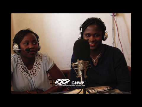 (2) Girl Ambassadors for Peace in DRC Second Radio Broadcast