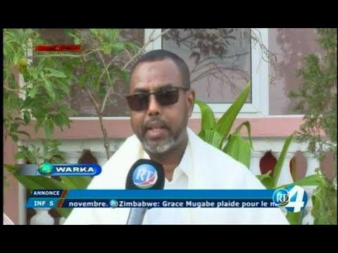 Télé Djibouti Chaine Youtube : JT Somali du 02/09/2017