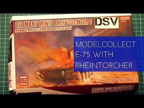 Modelcollect 1/72 WWII E75 with...