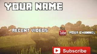 FREE Minecraft Outro + Shout out to Obey Needz!