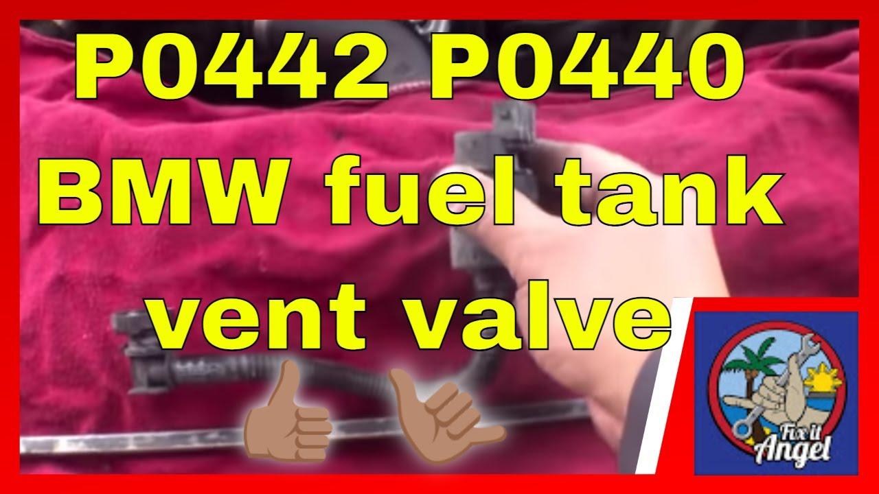 medium resolution of p0442 p0440 fuel tank vent valve replacement bmw 328i fix it angel
