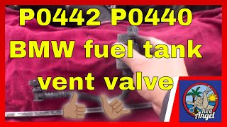 P0442 P0440 How to replace Fuel Tank Vent Valve BMW 328i√