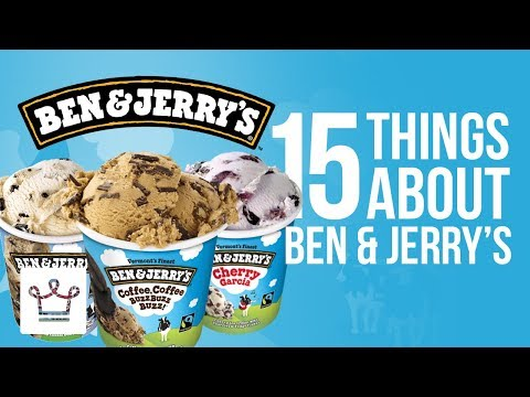 15 Things You Didn't Know About BEN & JERRY'S