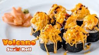 Homemade Lava/Volcano Sushi Roll Recipe  The Baked Version