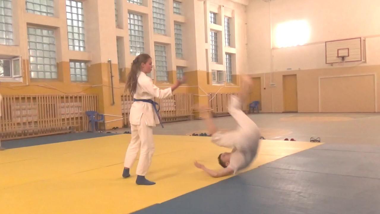 Зеленоград спортивный. Дзюдо. Детская тренировка 4-7 лет .