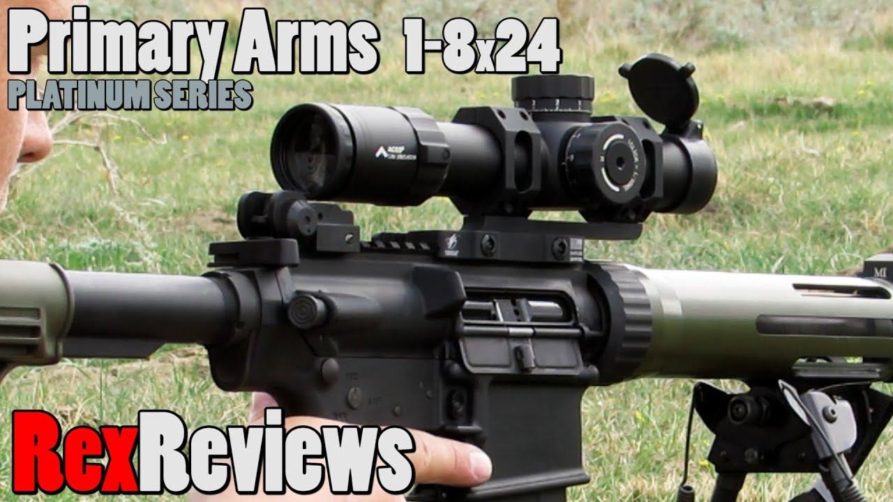 Primary Arms 1-8x24 Platinum ACSS ~ Rex Reviews - YouTube