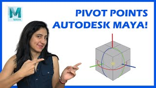 Maya Tutorial: Everything on how to move the pivot point in Maya