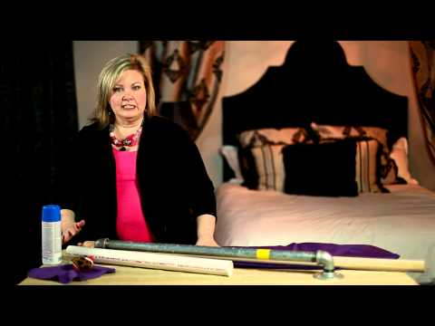 Creative Ideas to Make Your Own Curtain Rods : Creative Curtains