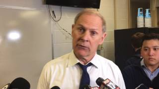 Watch John Beilein discuss Michigan's NCAA Tournament win over OK State