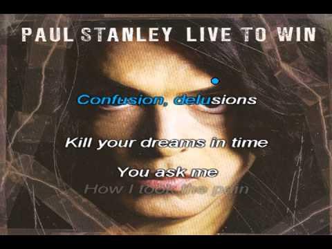 Paul Stanley - Live To Win KARAOKE