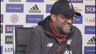 клопп и Роджерс пресс-конференция после матча  Лестер - Ливерпуль