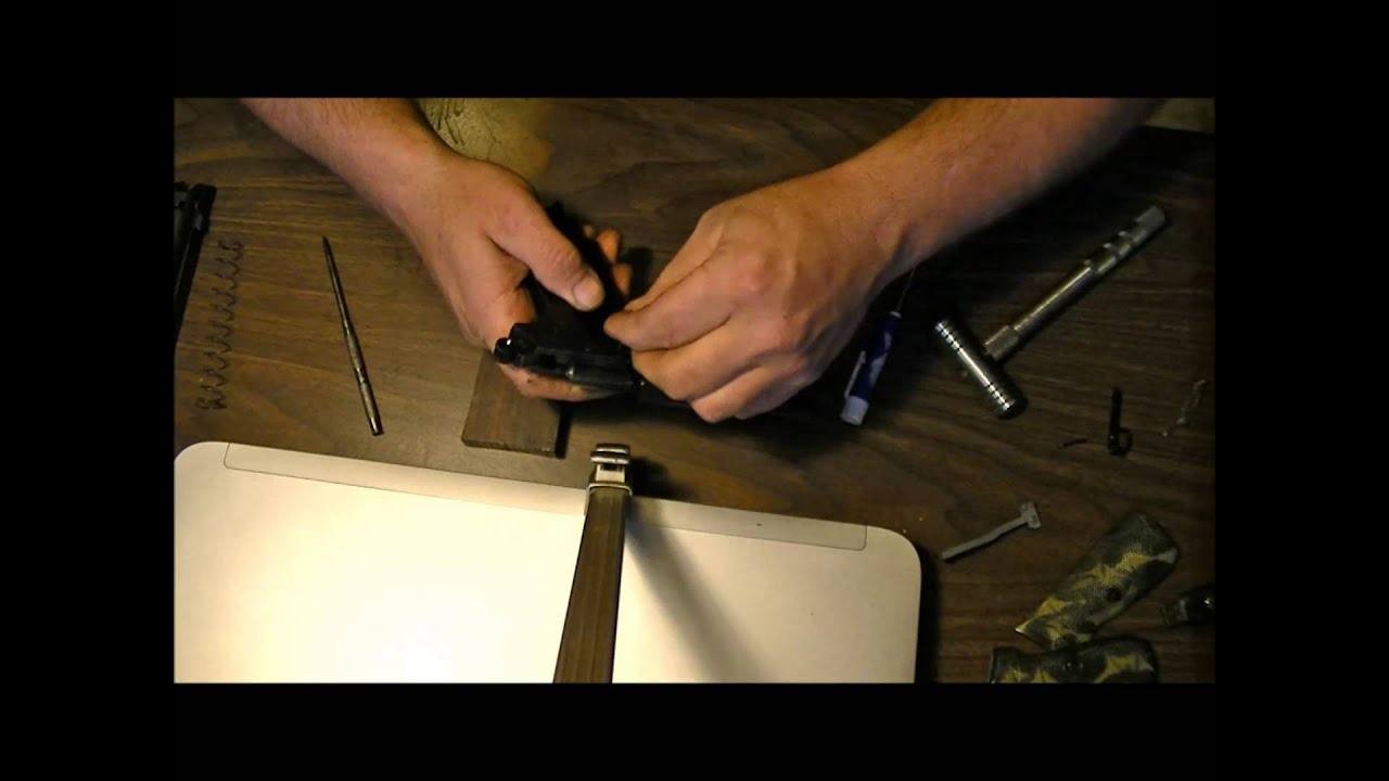 How to change the Valve in the Walther PPK
