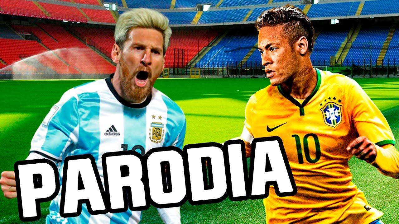 Canción Brasil Vs Argentina 3-0 2016 (Parodia Vente Pa Ca