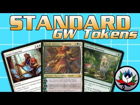 MTG – G/W Tokens Standard Deck Tech For Magic: The Gathering – Dominaria!