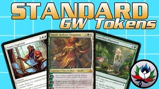 mtg – gw tokens standard deck tech for magic the gathering – dominaria