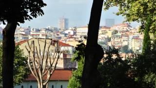 Istanbul Taksim square and Gulhane park