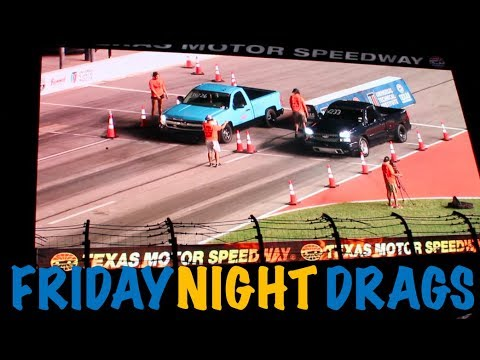 RACING DINOCO AT TEXAS MOTOR SPEEDWAY | FRIDAY NIGHT DRAGS