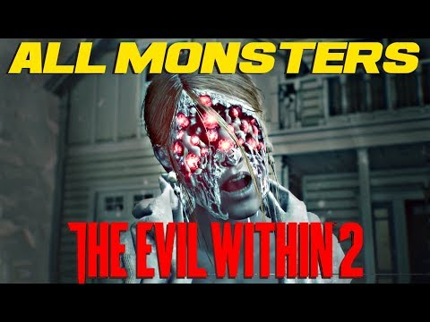 ALL MONSTERS in THE EVIL WITHIN 2