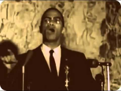 Malcolm X talking about education